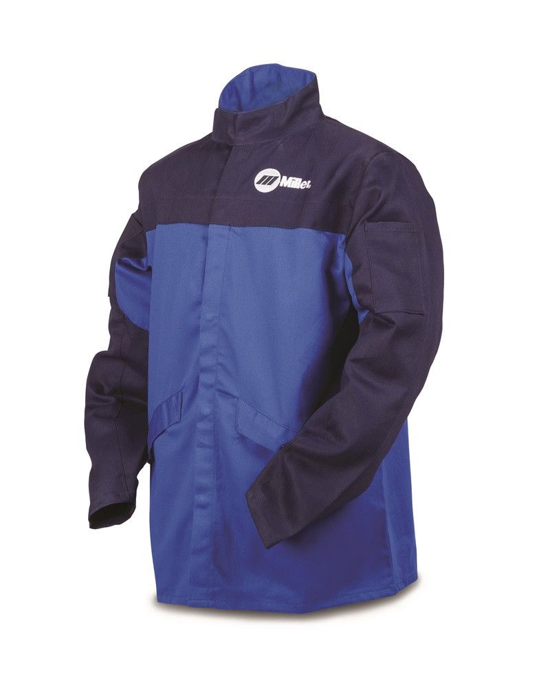 Miller Indura FR Cloth Welding Jacket Front
