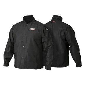 Lincoln K2985 Traditional FR Cloth Welding Jacket (Medium to XXXL)