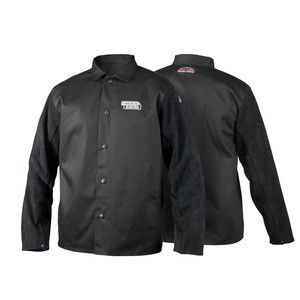 Lincoln K3106 Traditional Split Leather Sleeved Welding Jacket