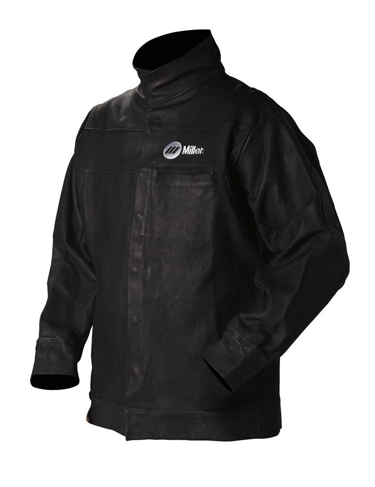 Miller Leather Welding Jacket Front