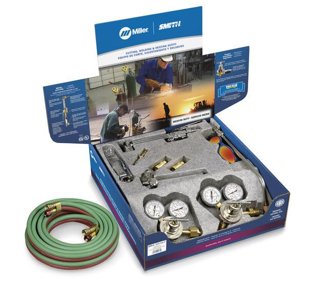 Miller-Smith MBA-30510LP Medium Duty Propane Cutting Outfit