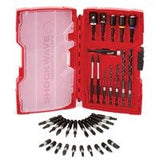 Milwaukee 48324402 35pc Shockwave Drilling and Driving Bit Set