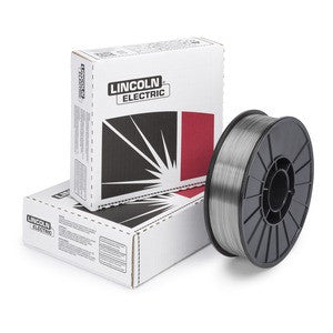 "Lincoln ED012699 3/32"" Innershield NR-5 Flux-Cored Self-Shielded Wire (600lb SF Reel)"