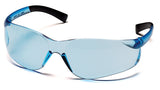 Pyramex S2560ST Ztek Infinity Blue Safety Glasses W/ Infinity Blue Anti-Fog Lens (12 each)