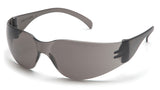 Pyramex S4120ST Intruder Gray Safety Glasses W/ Gray-Hardcoated Anti-fog Lens (12 each)