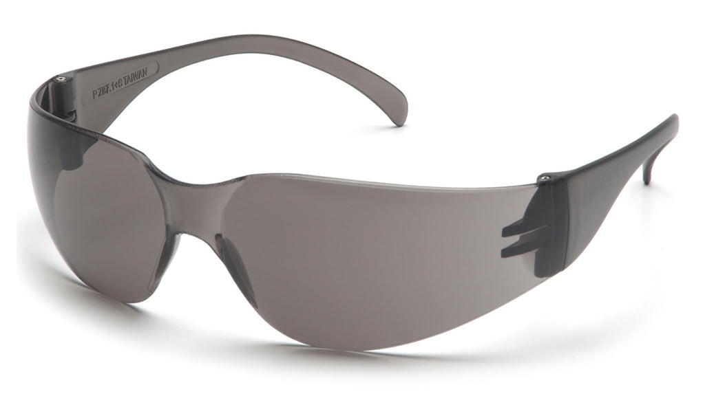 Pyramex S4120S Intruder Gray Safety Glasses W/ Gray-Hardcoated Lens (12 each)