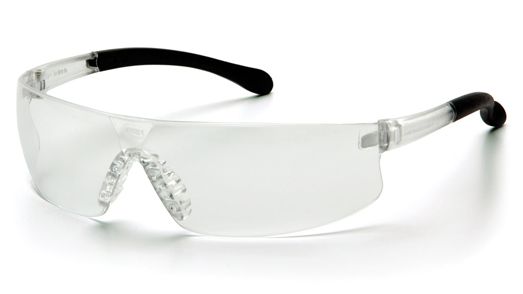 Pyramex S7210ST Provoq™ Clear Safety Glasses W/ Clear Anti-Fog Lens (12 each)