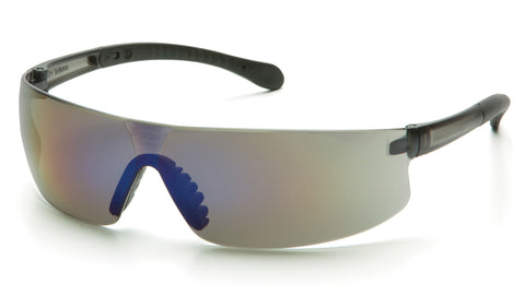 Pyramex S7275S Provoq™ Blue Mirror Safety Glasses W/ Blue Mirror Lens (12 each)
