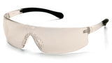 Pyramex S7280ST Provoq™ I/O Mirror Safety Glasses W/ Indoor/Outdoor Mirror Anti-Fog Lens (12 each)