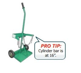 Norstar N430001 Light Duty Cylinder Cart