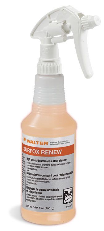 Walter SURFOX™ Renew Stainless Steel Cleaner