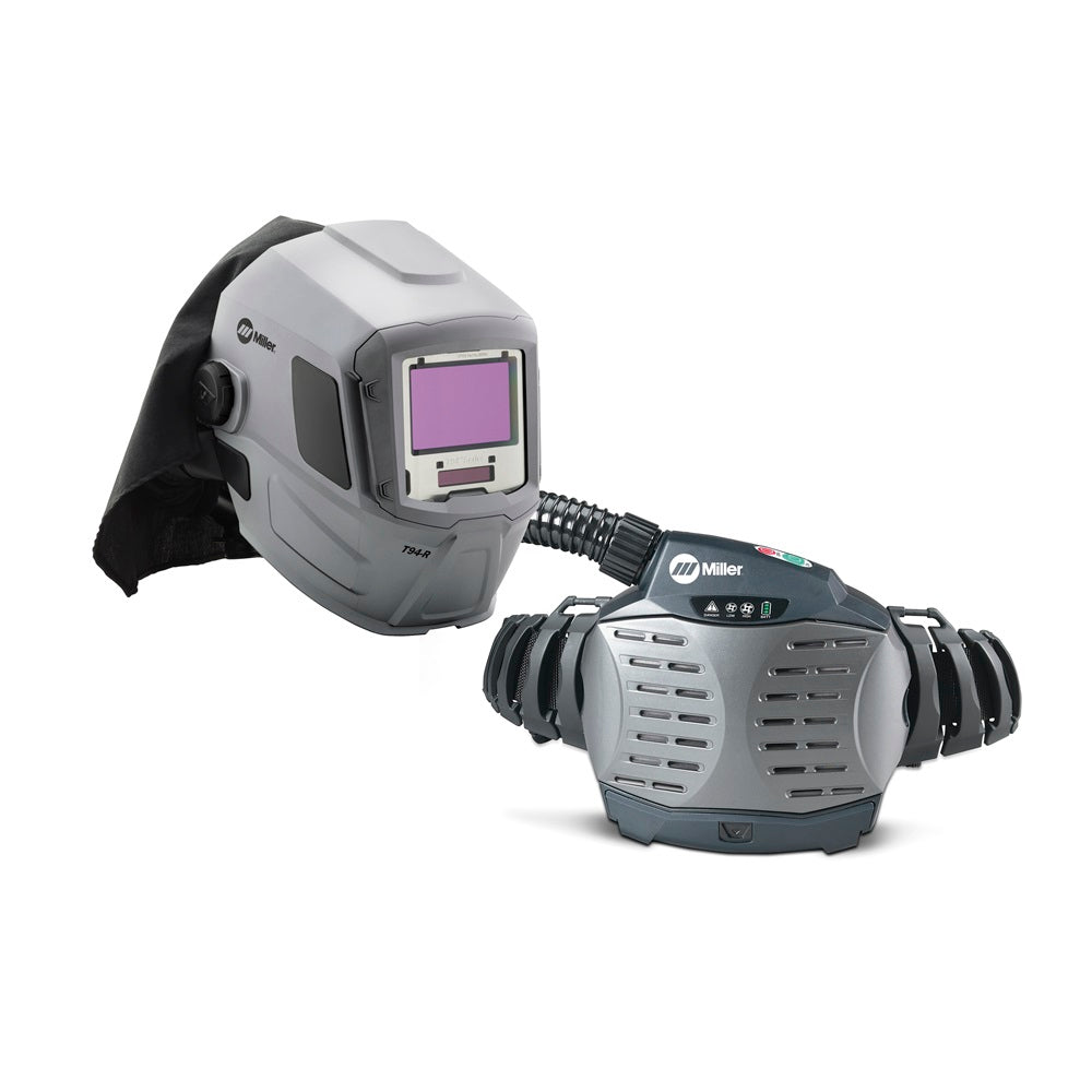 Miller 264573 PAPR (Powered Air-Purifying Respirator) with T94-R Welding Helmet