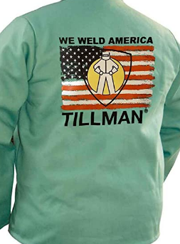 "Tillman 9030 ""We Weld America"" Screen Print on 6230 Jacket (1 Jacket)"