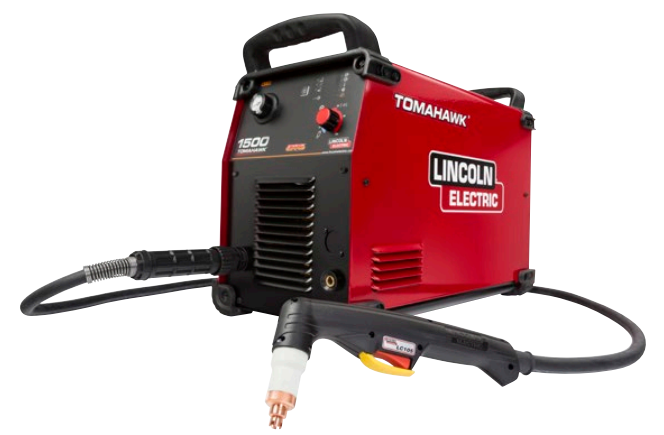 Lincoln Tomahawk 1500 Plasma Cutter With 25