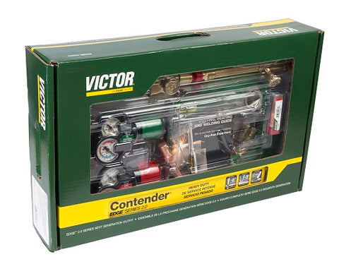 Victor 0384-2130 Contender 540-510 Edge 2.0 Acetylene Heavy Duty Outfit