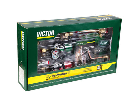 Victor 0384-2113 Journeyman II EDGE 2.0 Propylene Heavy Duty Cutting Torch Outfit