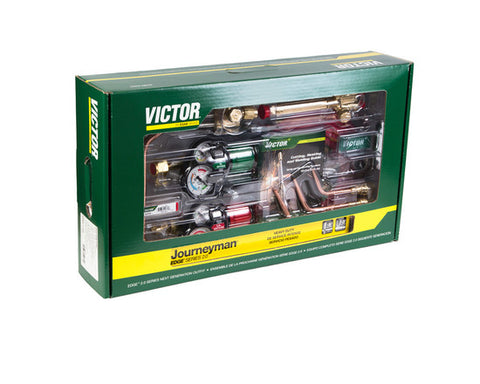 Victor 0384-2101 Journeyman EDGE 2.0 Acetylene 540/510 Heavy Duty Outfit