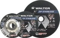 "Walter 11F142 4.5"" x 3/64"" x 7/8"" Zip Type-27 Stainless Cut-Off Wheel"
