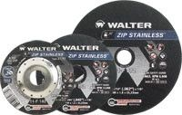 "Walter 11F052 5"" x 3/64"" x 7/8"" Zip™ Stainless Cut-Off Wheels"