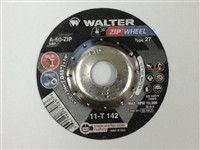 Aluminum Oxide 5 Diameter 7//8 Arbor 3//64 Thick Round Hole Pack of 25 Grit A-60-ZIP-ALU Walter Zip Alu Fast and Free Cutoff Wheel Type 27
