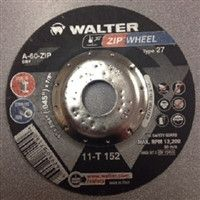 "Walter 11T152 5"" x 3/64"" x 7/8"" Type-27 Zipcut Cut-Off Wheel"