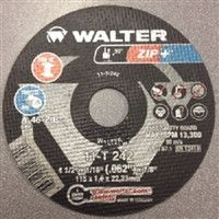 "Walter 11T242 4.5"" x 1/16"" x 7/8"" ZIP+ Xtra Cut-Off Wheels"