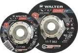 Walter 11-T-842 4 1/2 x 5/64 x 7/8 Steel and Stainless Cut-Off Wheels (25 Pack)