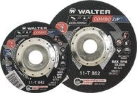 Walter 11-T-862 6 x 5/64 x 7/8 Steel and Stainless Cut-Off Wheels (25 Pack)