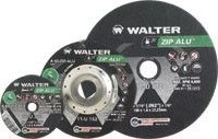 "Walter 11U142 4.5"" x 3/64"" x 7/8"" Zip Alu Type-27 Cut-Off Wheel"