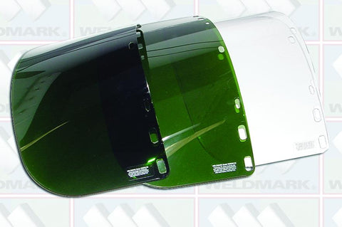 Weldmark WM838150 Dark Green Visor 8 X 15 1/2 X .060 (IM9P6FD) (Pkg. of 50)