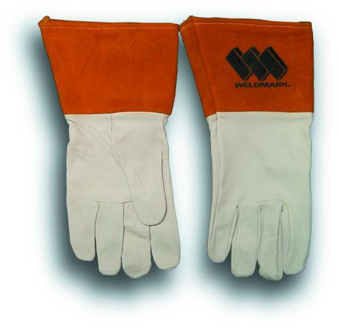 "Weldmark WM811102 Tig/Mig Top Grain Kidskin Unlined with 4"" Cuff Gloves (Pkg. of 12)"