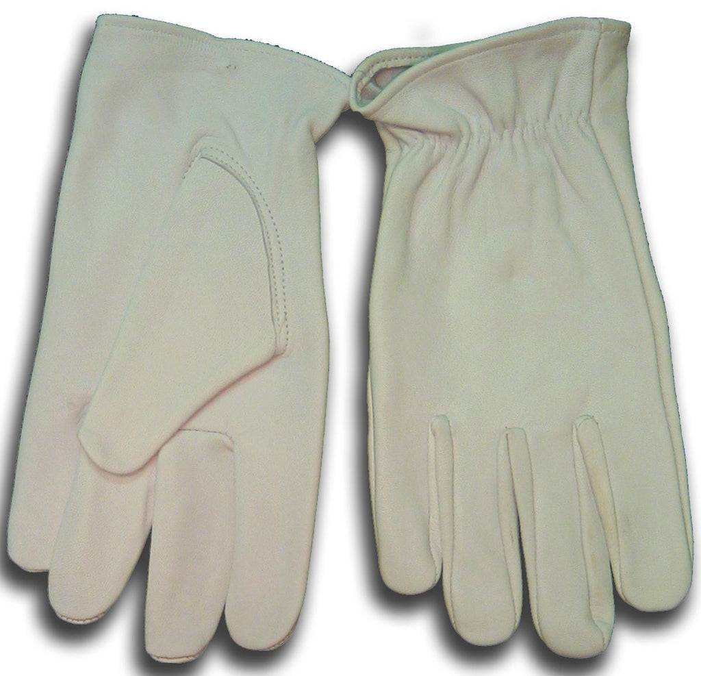 Weldmark WM831102 Drivers Top Grain Goatskin Unlined Shirred Cuff Gloves (Pkg. of 12)