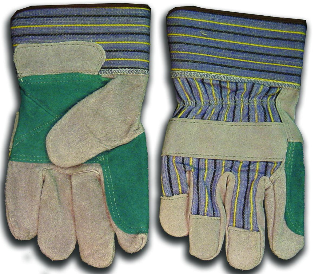 "Weldmark WM848109 Work DBL Leather Palm Denim Back HD 2.5"" Cuff Gloves (Pkg. of 72)"