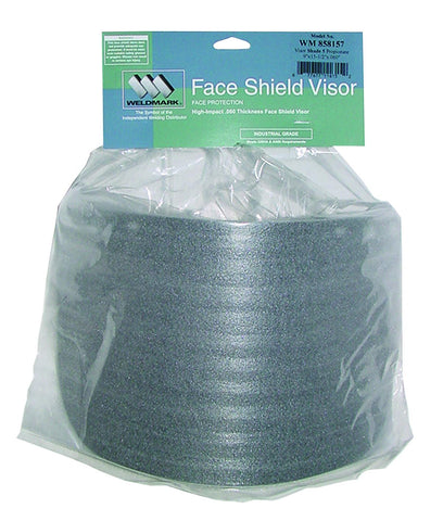 Weldmark WM858157 Shade #5 Visor 8 X 15 1/2 X .060 P.O.P. (Pkg. of 50)