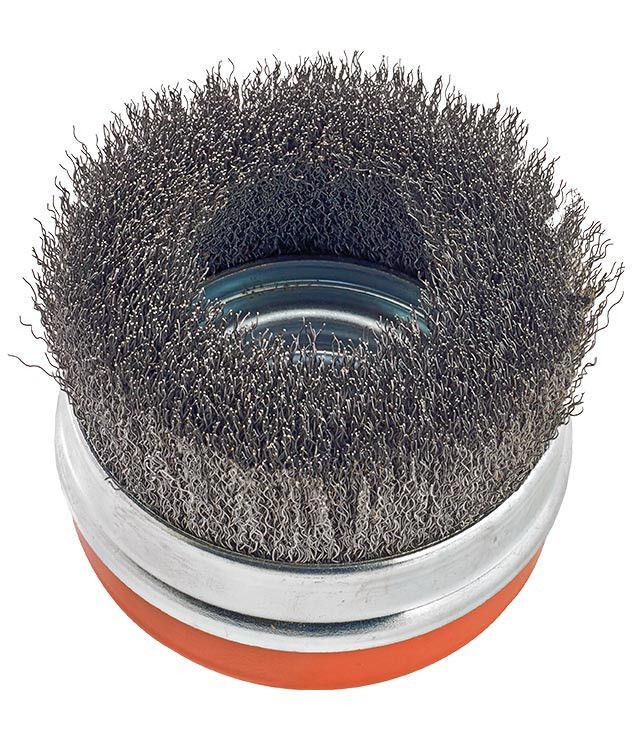 "Walter 13D424 4"" Crimped Cup Brush with Ring"