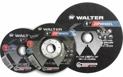 "Walter 11T042 4.5"" x 3/64"" x 7/8"" Zip Wheel Cut-Off Wheel"