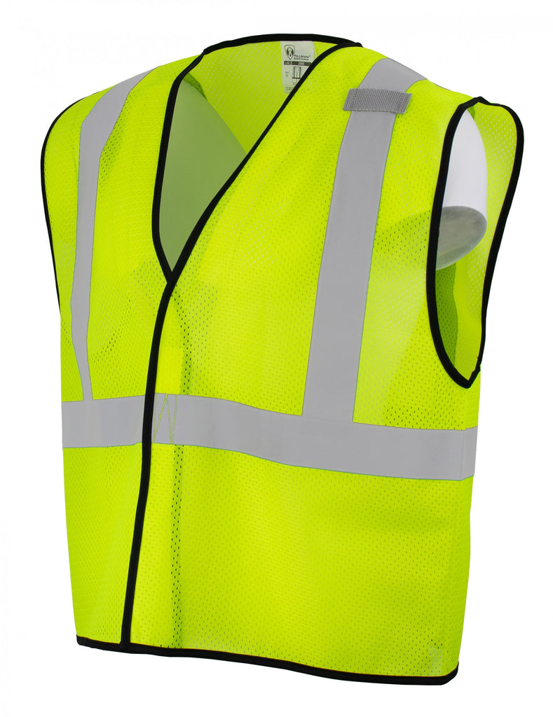 Tillman 2000 High-Vis Yellow Economy Series Safety Vest (1 Vest)