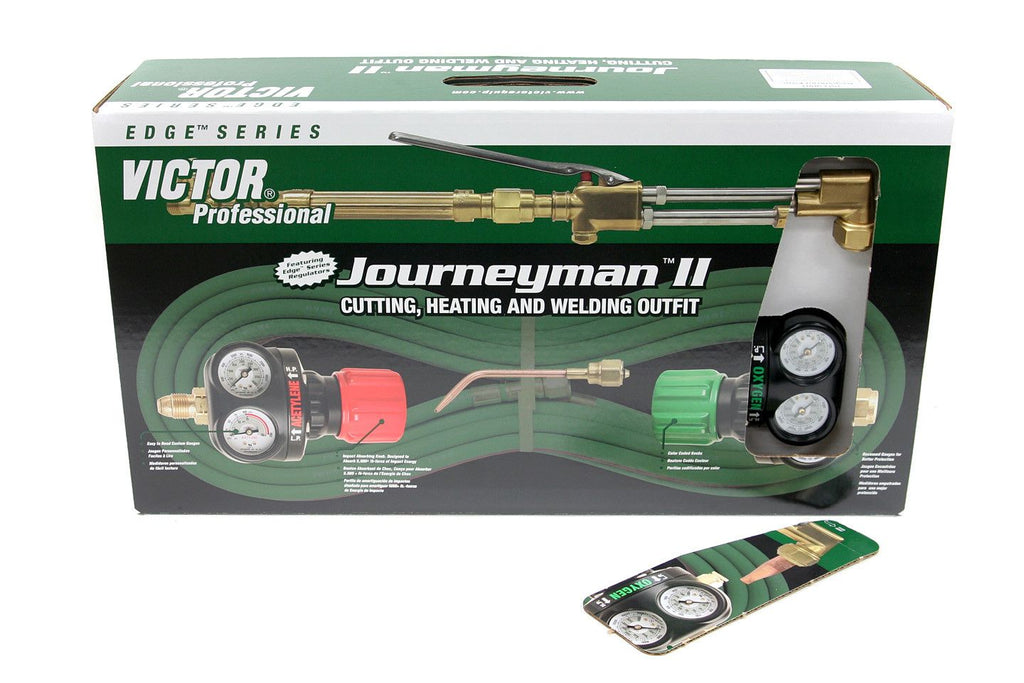 Victor 0384-2040 Journeyman 2 Acetylene Heavy Duty Cutting Torch Outfit