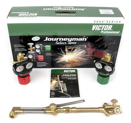 Victor 0384-2075 Journeyman Select Propane/NG Heavy Duty Cutting Torch Outfit