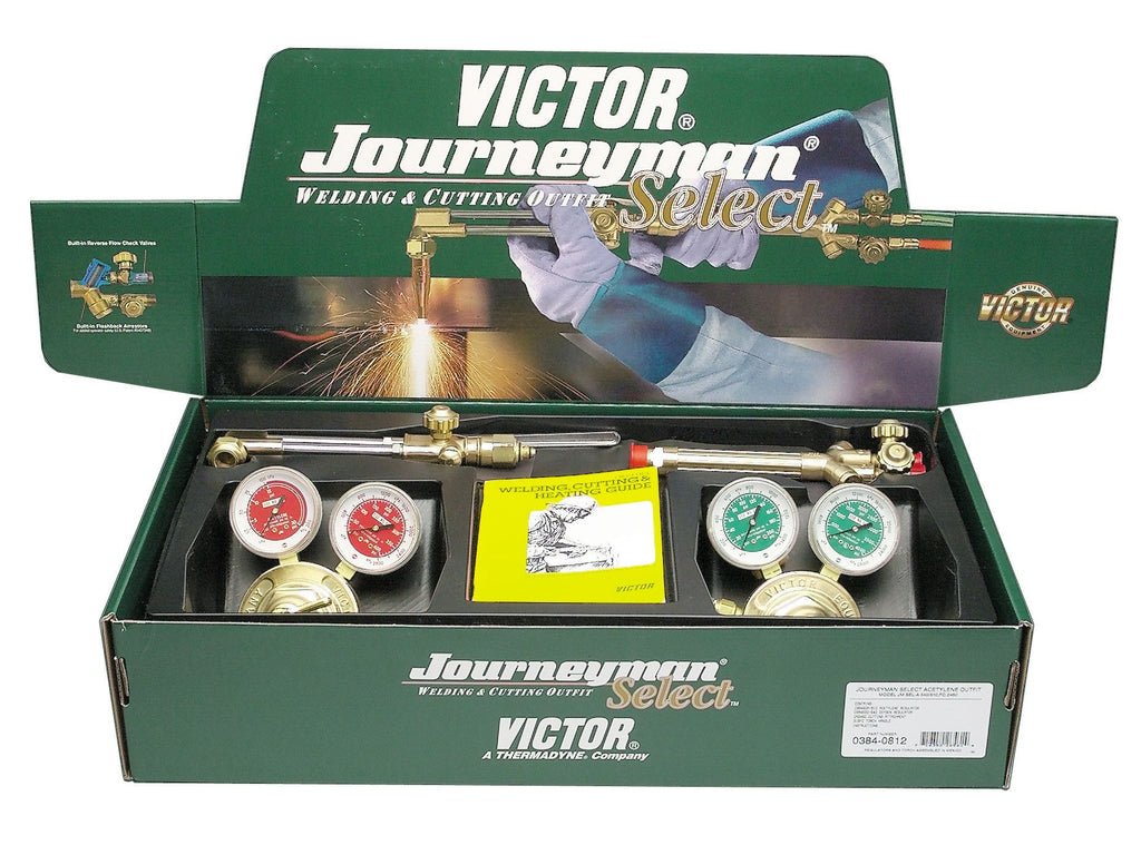 Victor 0384-2070 Journeyman Select Acetylene Heavy Duty Cutting Torch Outfit