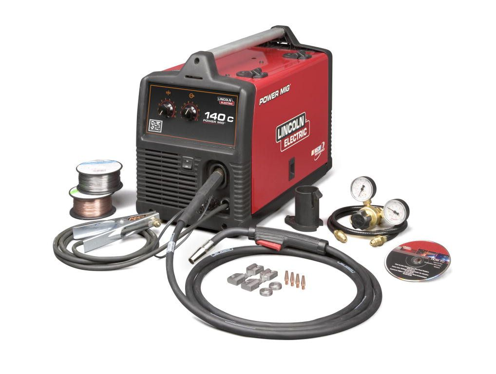 "Lincoln U2471-2 ""Factory Reconditioned"" Power Mig 140C Mig Welder"