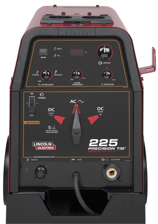 Lincoln K2535-2 Precision TIG 225 TIG Welder w/ Ready Pak and Cart
