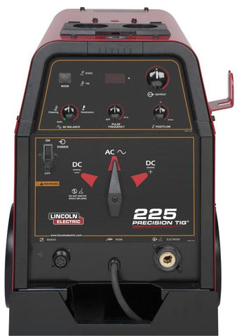 Lincoln K2535-2 Precision TIG® 225 TIG Welder Ready-Pak® w/ Cart