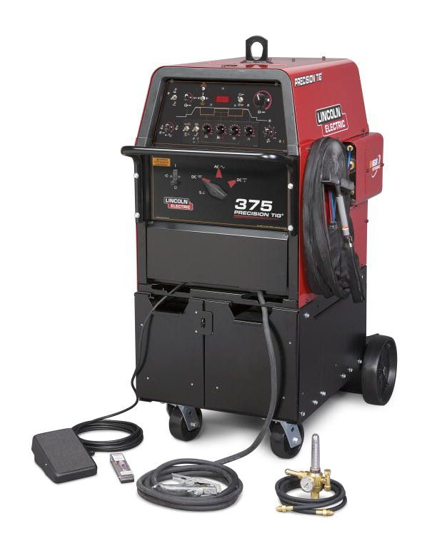 Lincoln K2624-1 Precision TIG® 375 TIG Welder Ready-Pak®