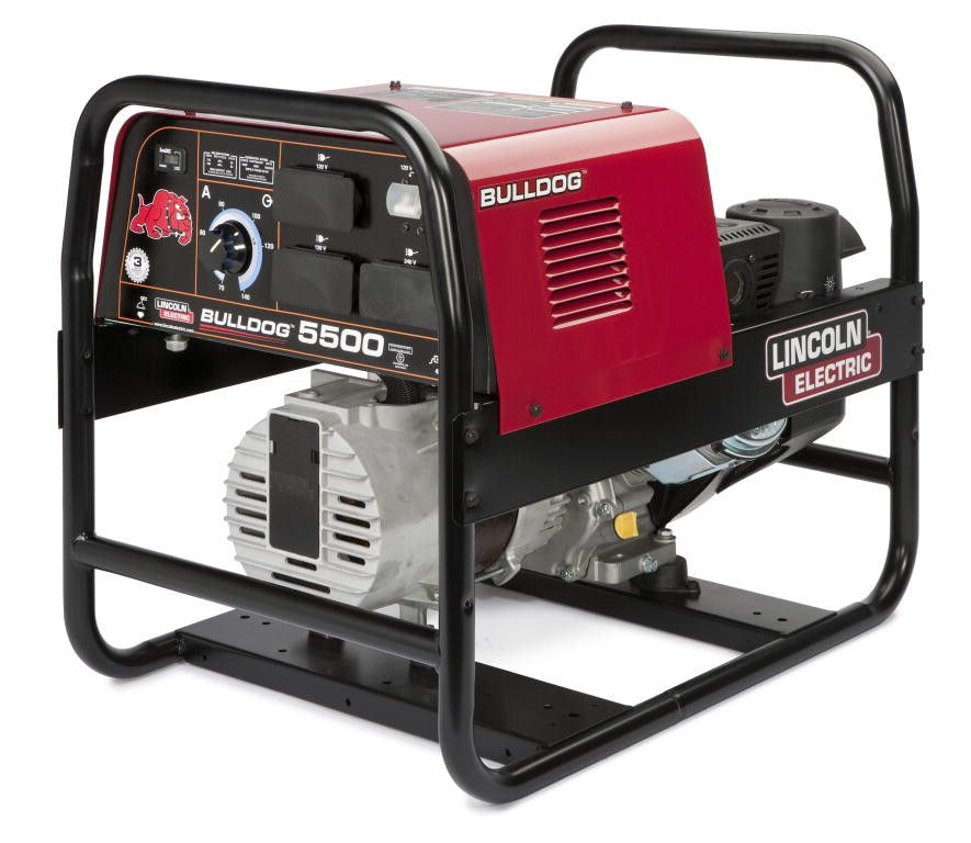 Lincoln K2708-2 Bulldog® 5500 Engine Driven Welder