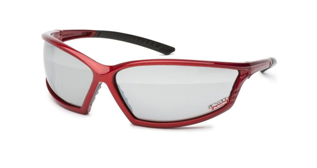Lincoln K2972-1 I-Beam Red Outdoor Welding Safety Glasses