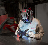 Lincoln K2977 Full Leather Steelworker Welding Gloves In Use