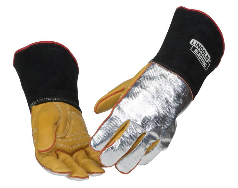 Lincoln K2982 Heat Resistant Welding Gloves Detail View