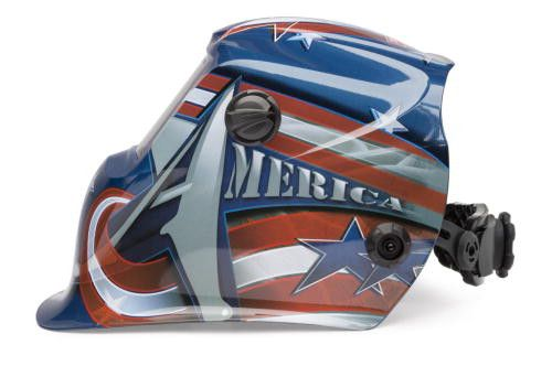 Lincoln K3173-2  All American 1840 Viking Welding Helmet side