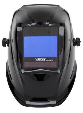 Lincoln K3230-3 2450D Viking® 2450D Black Digital Series Welding Helmet